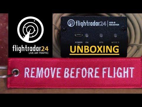FlightRadar24 ADS-B Receiver Kit Unboxing