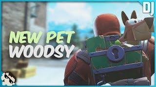 Woodsy Pet Dog - Season 8 Battle Pass! (Fortnite Battle Royale)