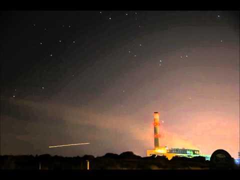 Fawley Power Station Star Trails