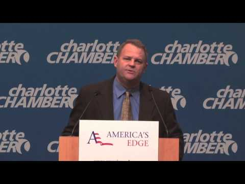"""Clifton Vann Speaks at the Charlotte Chamber of Commerce about the """"Skills Gap"""" and STEM Education"""