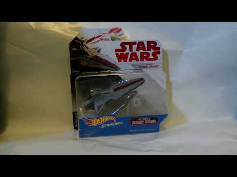 Star wars hottwheels republic attack cruiser review (first on YT)