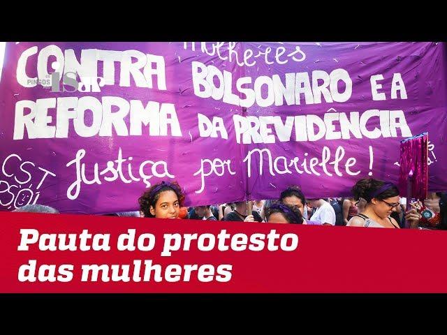 Esquerda usa Dia da Mulher para atacar Bolsonaro
