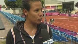 Internationaux de tennis de Strasbourg : Stéphanie Foretz