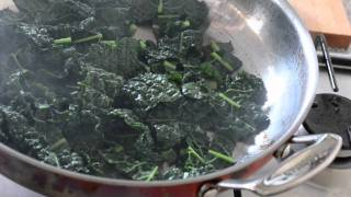 Braised Greens With Butter