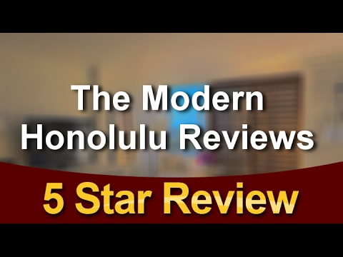 The Modern Honolulu Hotel Oahu Hawaii Review from Real Guests.