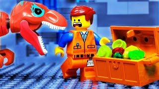 Lego City Jurassic World Dinosaur Adventure Fail - Toy Treasure Animation