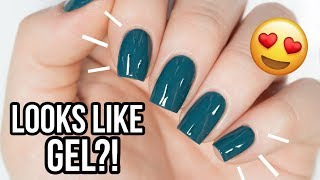 WOW! Make Regular Nail Polish Look Like GEL!