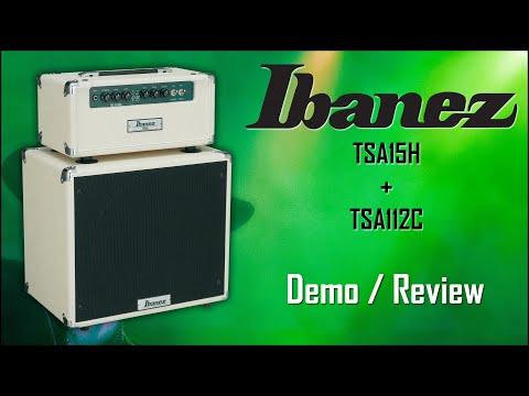 DEMO - Ibanez TSA15H Tube Screamer head & TSA112C