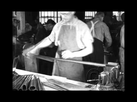 1924 Buescher Factory - The Fine Art of Musical Instrument Making - Saxophone Production