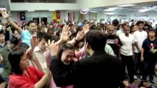 Powerful Move of the Holy Spirit in Kajang AOG with Shyju Mathew