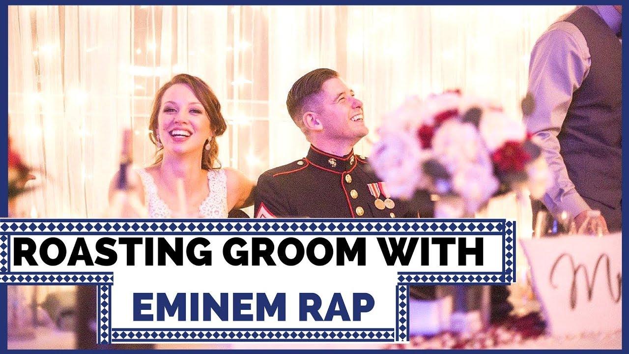 Best Man Speech Roast - Slim Shady Style (Cory Lapham Wedding Speech ...