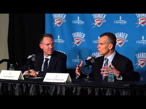 Welcome Thunder Head Coach Billy Donovan