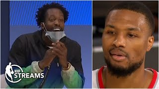 Reacting to the trash talk between Damian Lillard, Patrick Beverley & Paul George | Hoop Streams