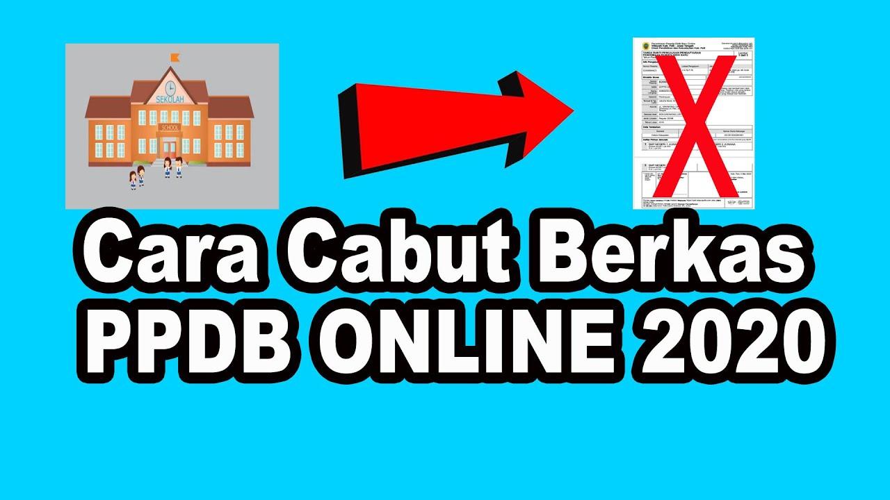 14+ Cara membatalkan pendaftaran ppdb online smk 2020 info cpns terbaru
