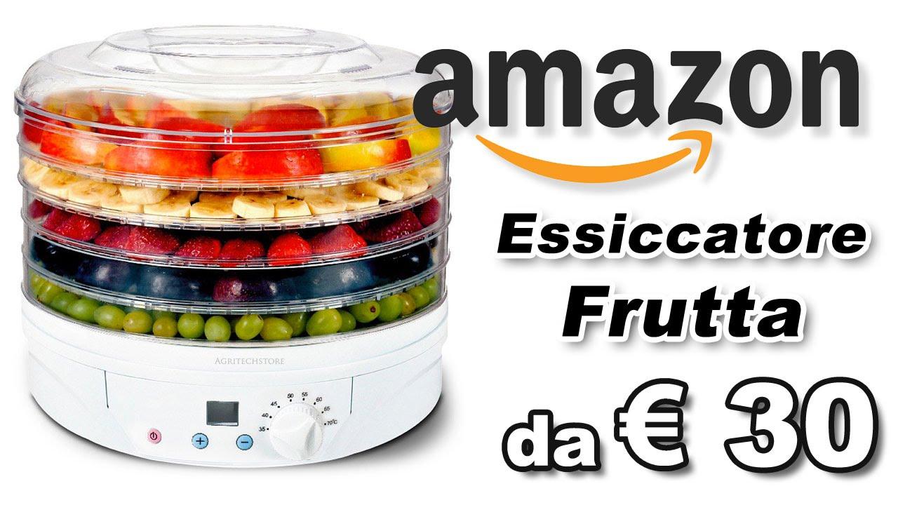 Come fare la frutta o carne secca con l 39 essiccatore youtube for Frutta con la o iniziale