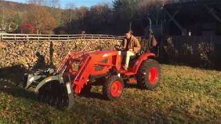 Removing And Installing A Kioti Tractor Loader - Ck3510 Se