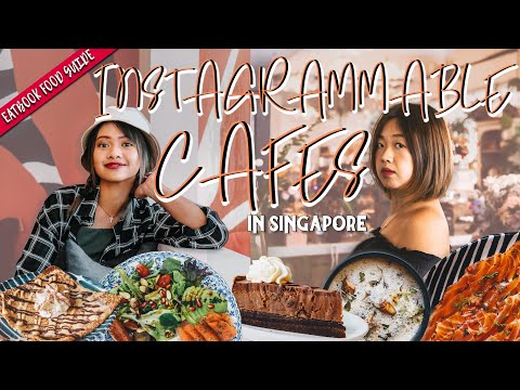 Instagrammable Cafes In Singapore | Eatbook Food Guide | EP 30