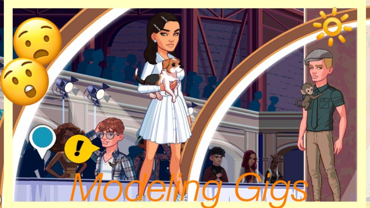 ?Completing Modeling Gigs • Kim Kardashian Hollywood