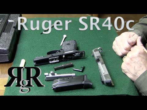 Ruger SR40c / SR9c Field Strip