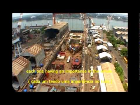 Cochin Shipyard . India - Kochi