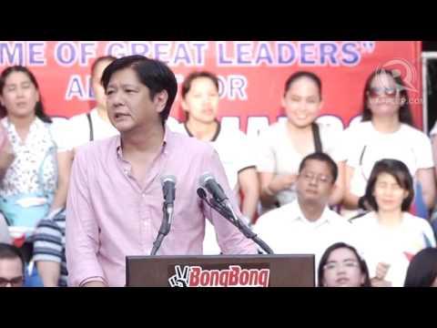 Baixar Senator Bongbong Marcos' full speech
