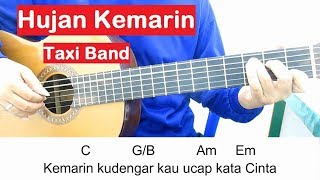 Belajar Gitar Taxi Hujan Kemarin