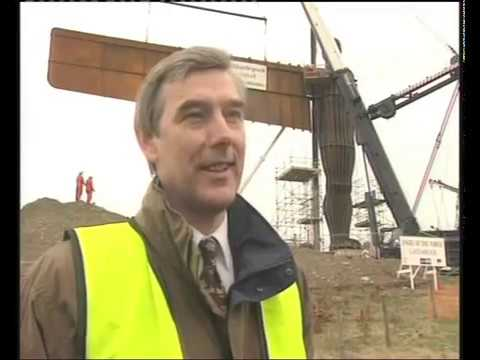 Building the Angel of The North. Documentary.