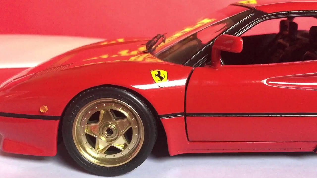 Ferrari 288 Gto 1 18 Bburago Youtube