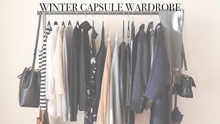Winter Minimal Capsule Wardrobe | Mademoiselle