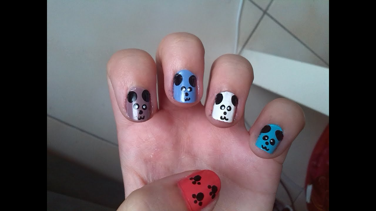 tuto d co ongles animaux youtube
