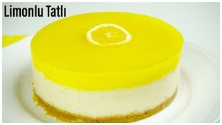 so yummy! you can't stop! Everybody wants!/refreshing lemon dessert/dessert recipes/Figen Ararat