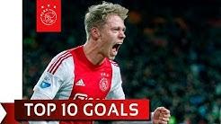 TOP 10 GOALS - Viktor Fischer