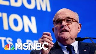 Giuliani Needed Apple Genius To Unlock Phone After Becoming Cybersecurity Adviser | Katy Tur | MSNBC