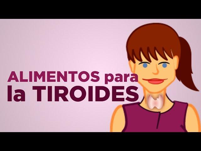 alimentos buenos para bajar la tiroides