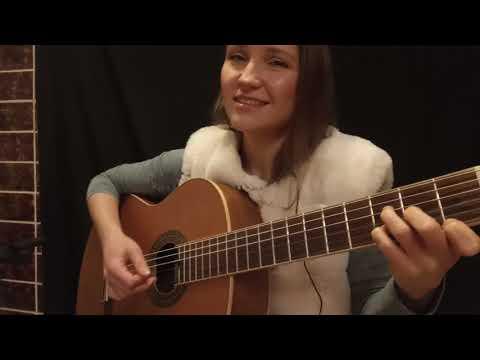 Одинокая ветка сирени(guitar Cover).  Автор -  Валерий Залкин