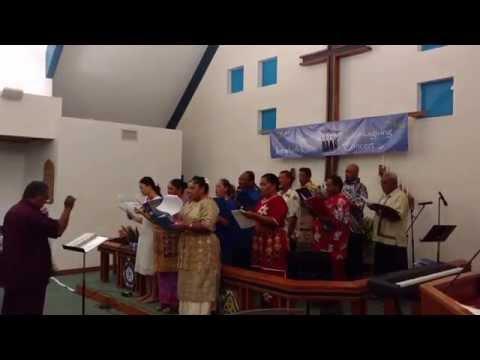 Tongan Methodist Choir Singing Hosanna! in Tongan Language