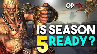 Is SMITE Season 5 READY to be released on Jan 30?