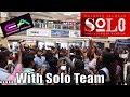 Solo Dulquer Salmaan With Flash Mob At EA Mall Chennai Neha Sharma Bejoy Nambiar mp3