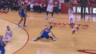 Stephen Curry gets crossed up(compilation)