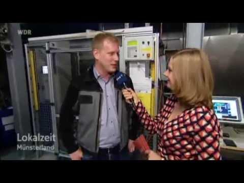 Wäscherei Sicking GmbH Münster LIVE Lokalzeit Münsterland WDR