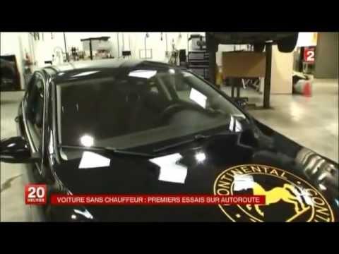 les premiers essais de la voiture sans chauffeur youtube. Black Bedroom Furniture Sets. Home Design Ideas