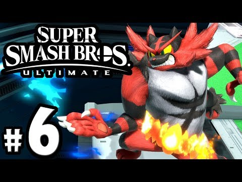 Super Smash Bros Ultimate - Incineroar Guide - New Spirit Event - Switch Gameplay Walkthrough PART 6 thumbnail