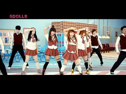 [HD] 5Dolls - Like This Like That MV