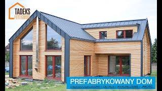 Wykończenie i detale - dom prefabrykowany Truskolasy/Polska 2017