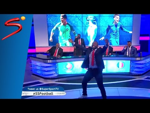 Eder Goal Reaction Euro 2016 Final - Benni McCarthy