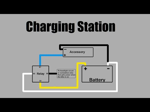 [38+] Wiring Diagram Of Motorcycle Charging System