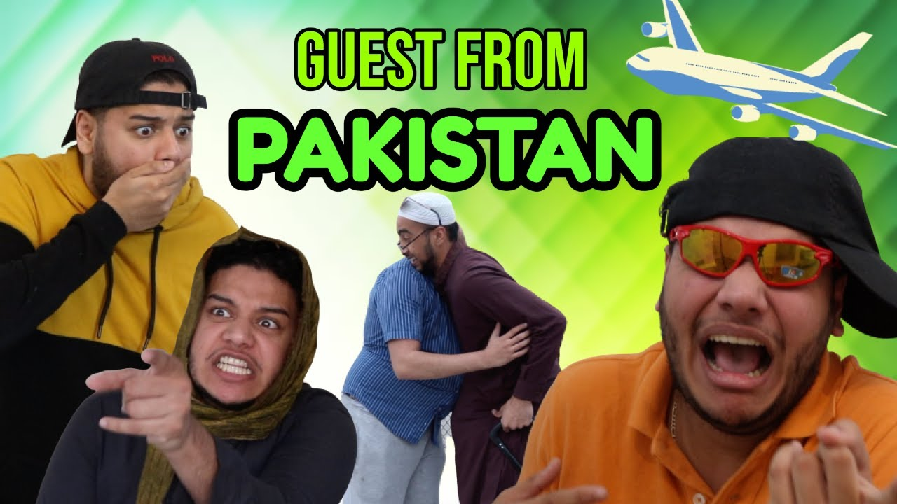 GUEST FROM PAKISTAN | SUNNY JAFRY