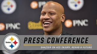 Ryan Shazier Opens Up About His Injury, His Support System & His Future | Steelers Press Conference