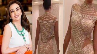 मुकेश अंबानी की बेटी ने पहना दुनिया का सबसे कीमती ड्रेस