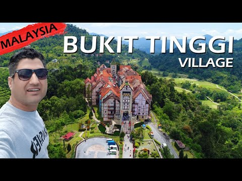 Bukit Tinggi by DRONE: A French Style Village in Malaysia